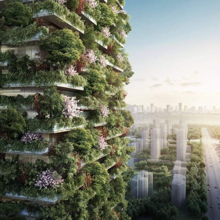 Paris Accord Exit - flying cars, vertical forests, tidal energy and vegetarian governernment