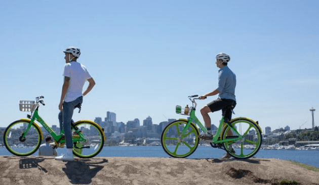 Stationless in Seattle: Bike-Sharing has Landed - Spin Bikeshare