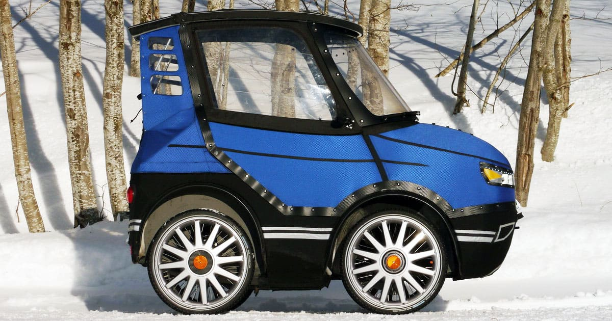 Meet PodRide, an Environmentally-Friendly 'Bicycle-Car'