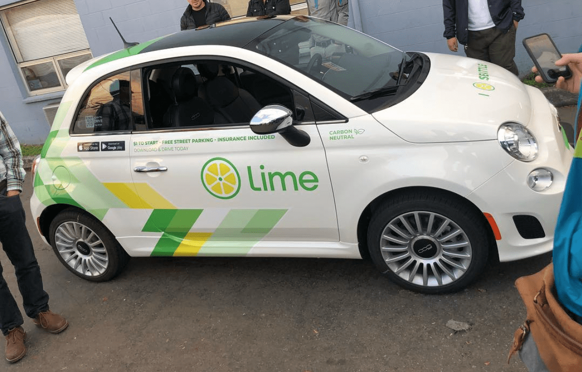 LimePod Car-Sharing - Use Lime promo code: RHUGZP5 for 3 free credits