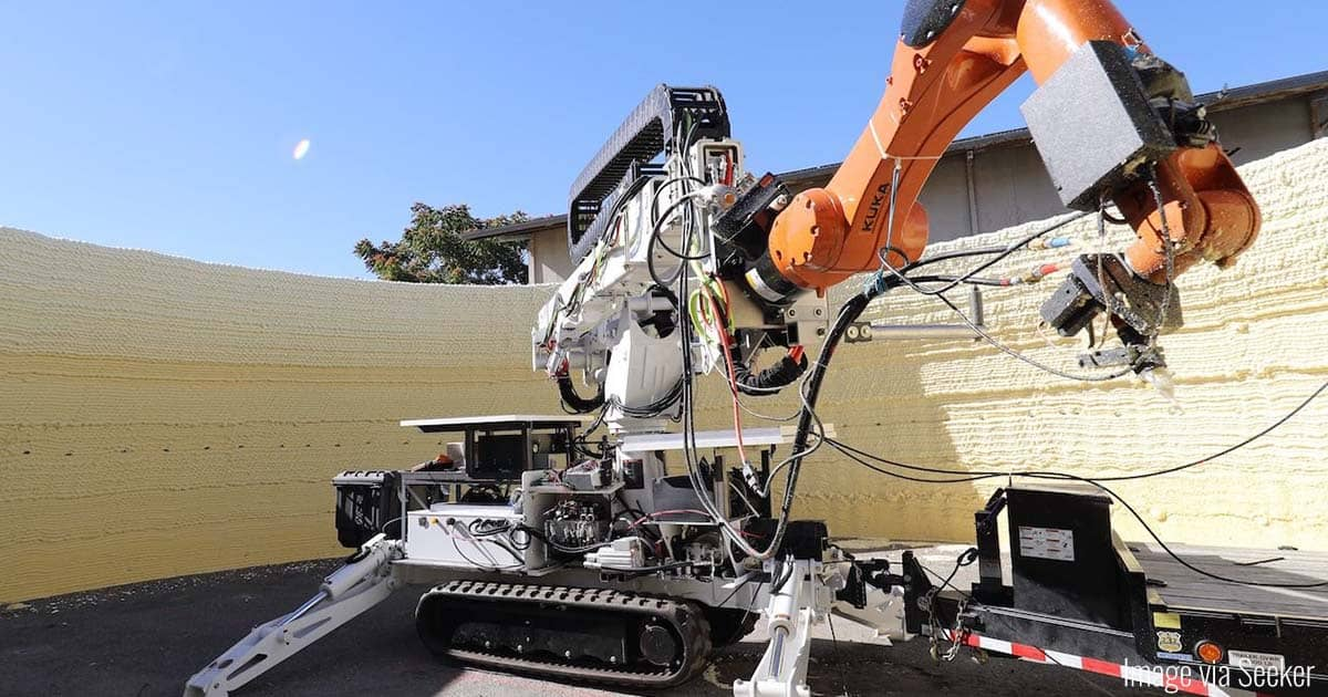 Construction Robotics 'Print' Housing in Less than a Day | Virtuul News