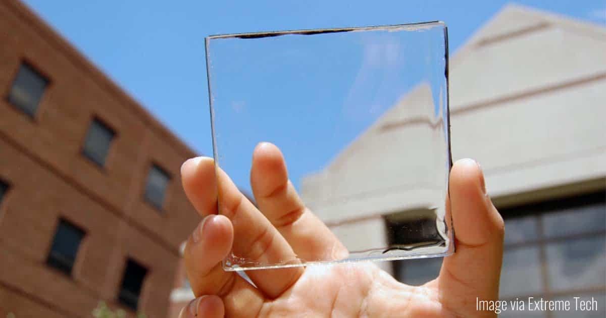 Transparent Solar Cell Panels for Energy | Virtuul News