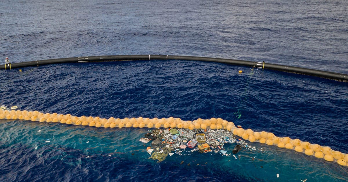 The Ocean Cleanup Traps Plastic in the Great Pacific Garbage Patch—What Now?